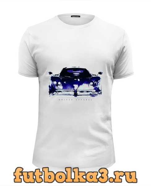 Футболка Пагани Зонда - Pagani Zonda Supercar Art мужская