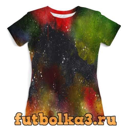 Футболка Палитра красок женская