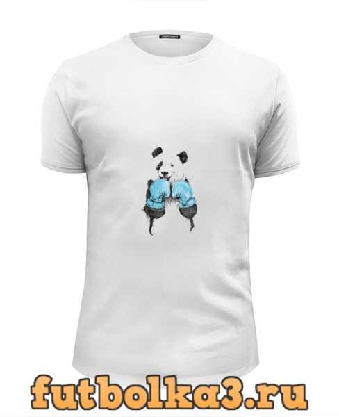 Футболка Панда боксер мужская