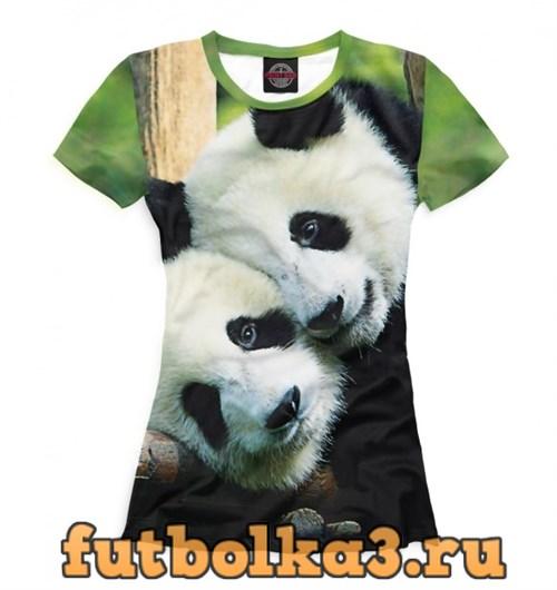Футболка Панды женская