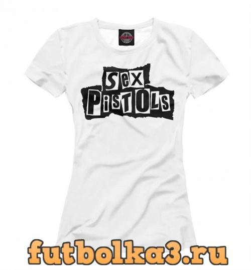 Футболка панк-рок женская