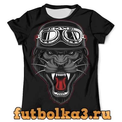 Футболка ПАНТЕРА БАЙКЕР мужская