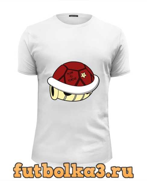 Футболка Панцерь Черепахи (Марио) мужская