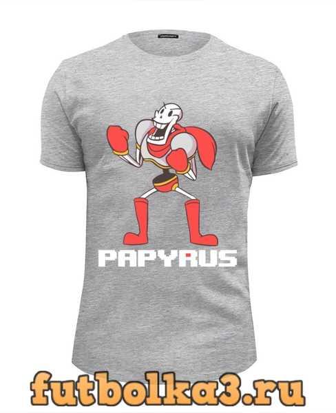 Футболка Папирус ( Underfale) мужская