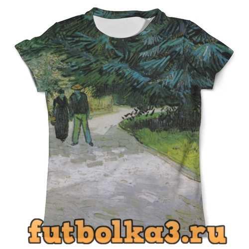 Футболка Пара в парке, Арль (Винсент Ван Гог) мужская