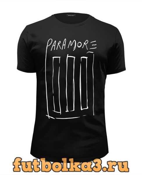 Футболка Paramore мужская