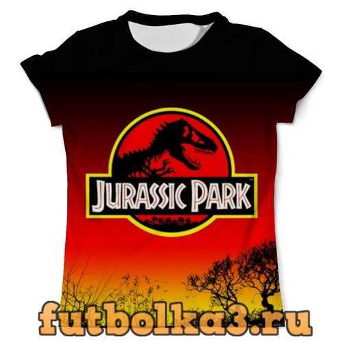 Футболка Парк Юрского Периода мужская
