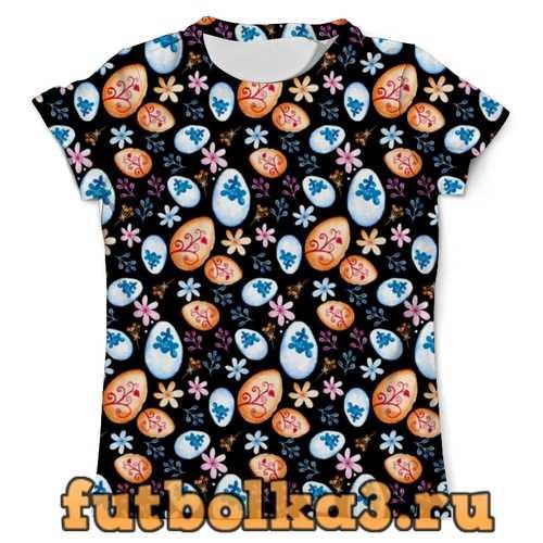 Футболка Пасхальные яйца мужская