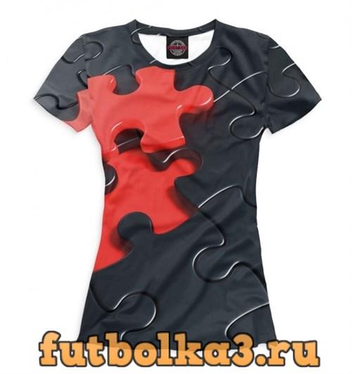 Футболка Пазл женская