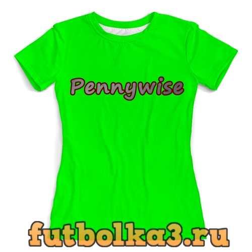 Футболка Пеннивайз женская