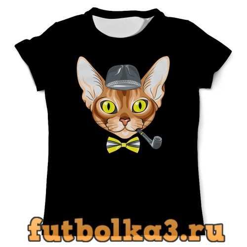 Футболка Персидская кошка мужская