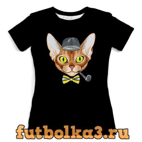 Футболка Персидская кошка женская