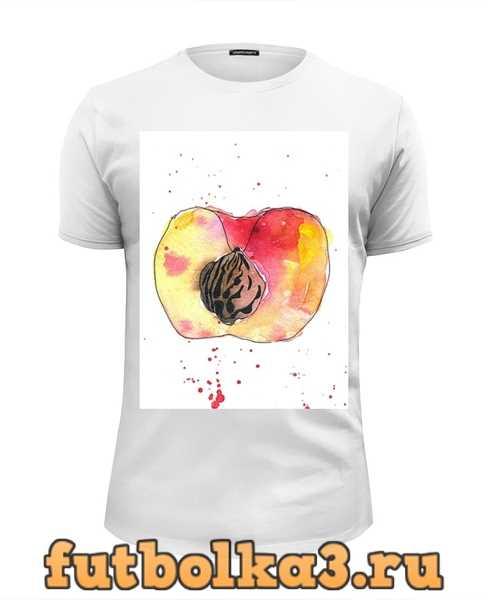Футболка персик мужская