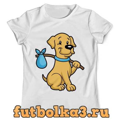 Футболка Пёс-бродяга мужская