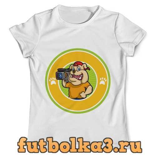 Футболка Пёс-оператор мужская