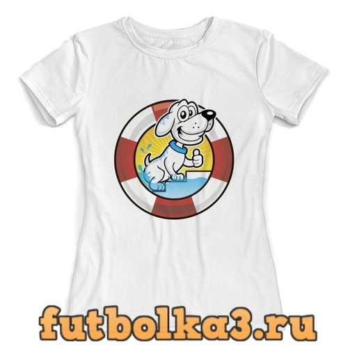 Футболка Пёс-спасатель женская