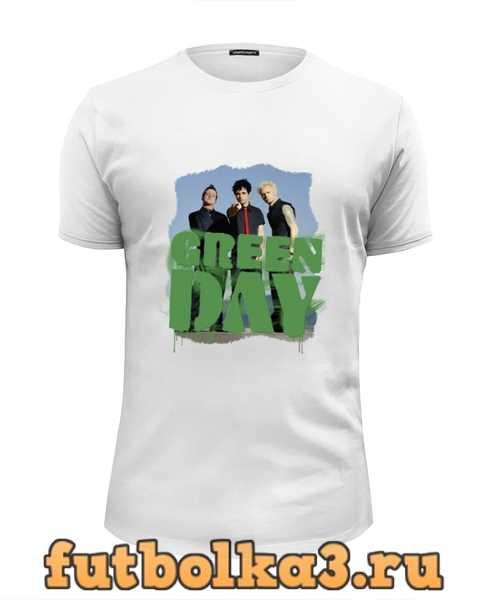 Футболка Популярная панк-группа Green Day мужская