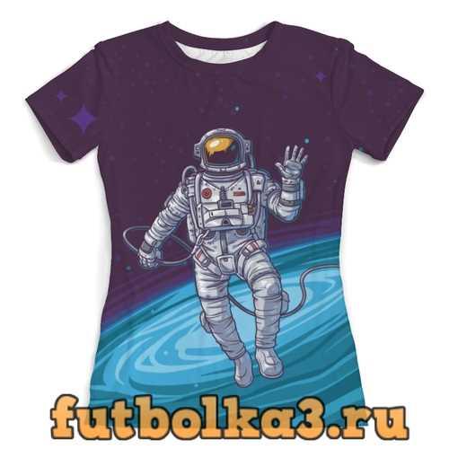 Футболка Привет из космоса женская