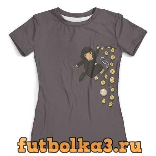 Футболка Проказливый нюхль женская