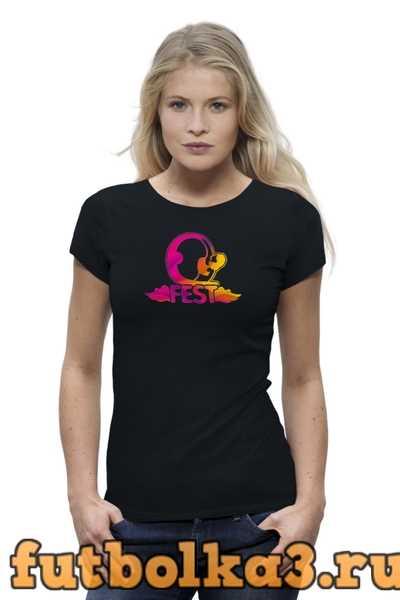 Футболка Q-FEST premium женская