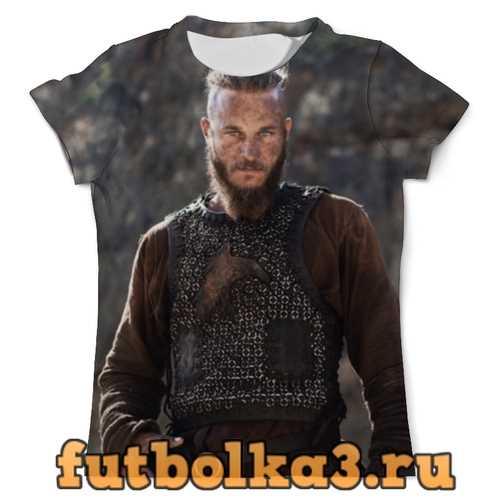 Футболка Рагнар Лодброк мужская