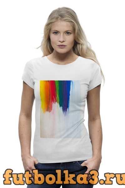 Футболка Rainbow женская