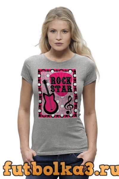 Футболка Rock Star женская
