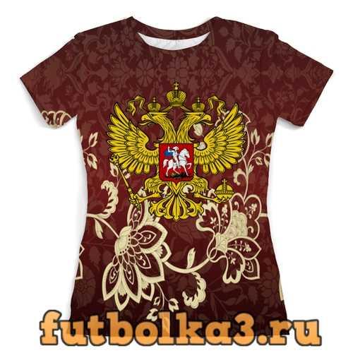 Футболка Роспись женская