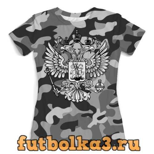 Футболка Россия (Герб) женская