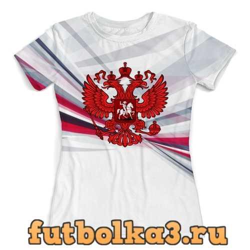Футболка Россия женская
