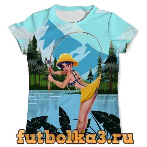 Футболка Рыбалка с любимой (Fishing) мужская
