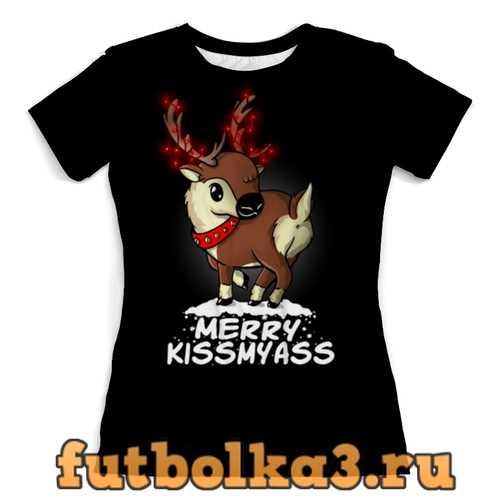 Футболка С Рождеством! женская
