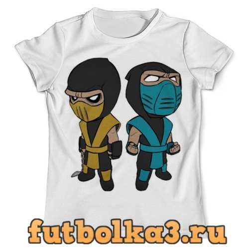 Футболка Саб-Зиро и Скорпион (Мортал Комбат) мужская