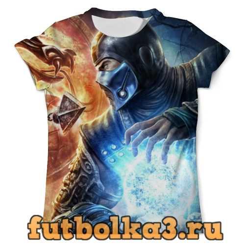 Футболка Саб-Зиро (Мортал Комбат) мужская