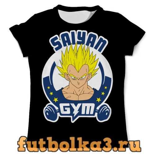 Футболка Сайян мужская