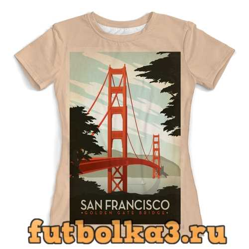 Футболка Сан-Франциско женская