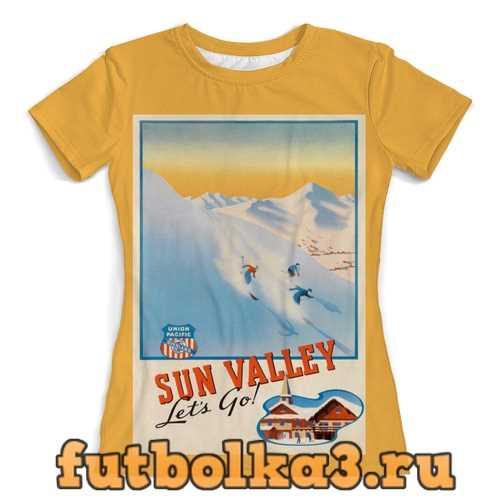 Футболка Сан-Валли женская