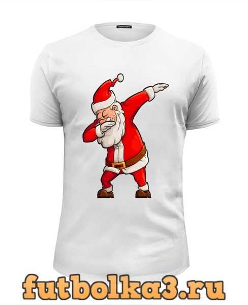 Футболка Санта клаус мужская