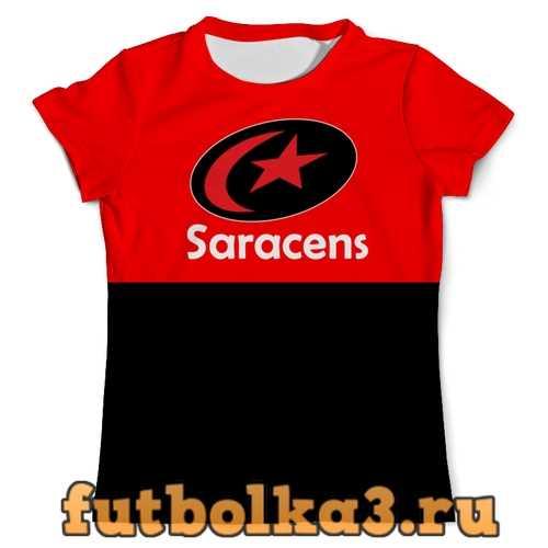 Футболка Сарацинс регби клуб мужская