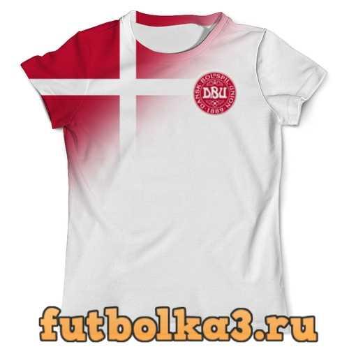 Футболка Сборная Дании мужская
