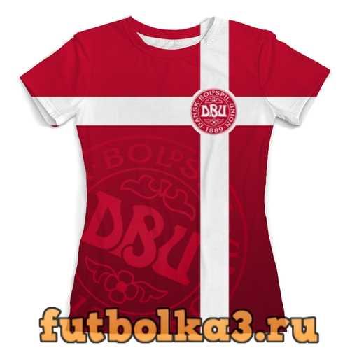 Футболка Сборная Дании женская