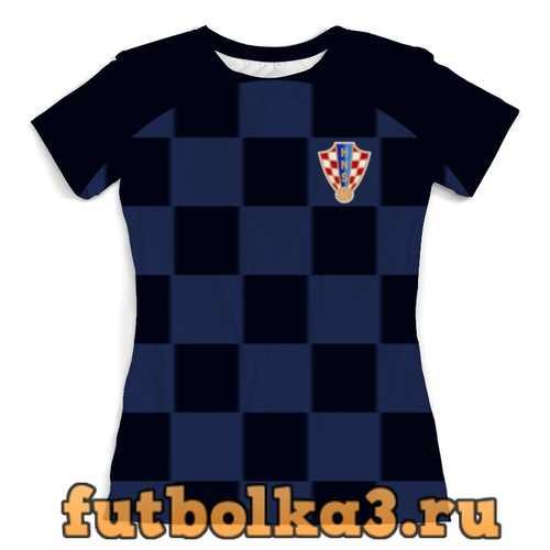 Футболка Сборная Хорватии женская