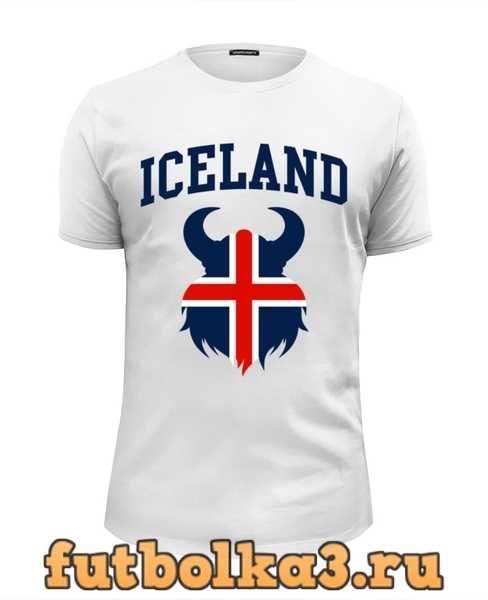 Футболка Сборная Исландии мужская