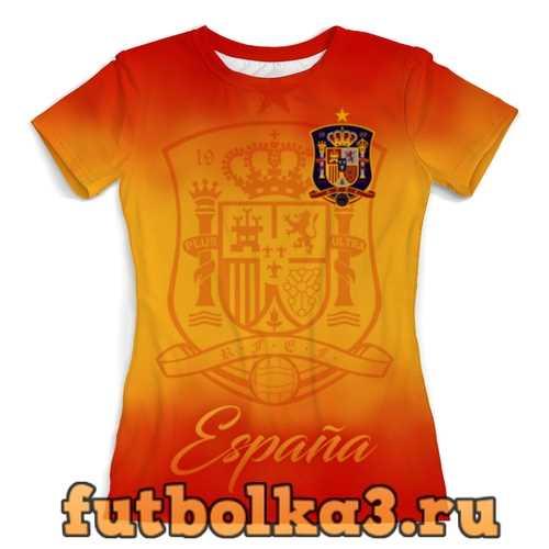 Футболка Сборная Испании женская