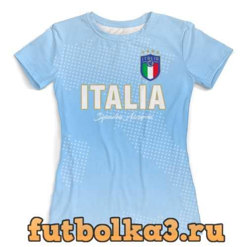 Футболка Сборная Италии женская