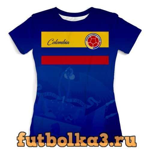 Футболка Сборная Колумбии женская