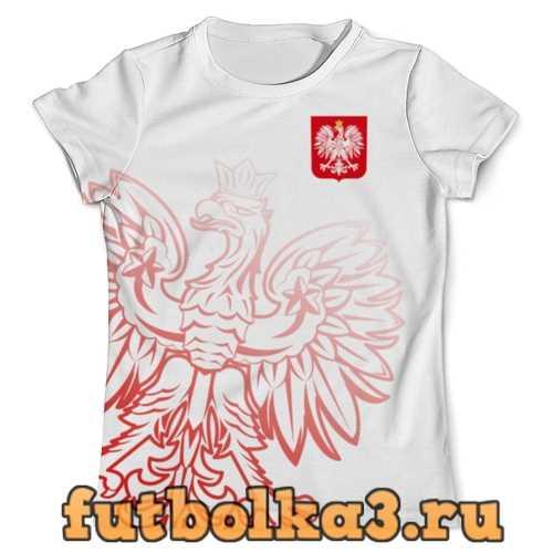 Футболка Сборная Польши мужская
