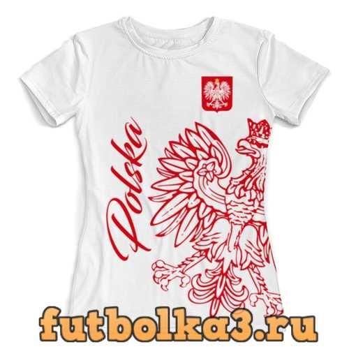 Футболка Сборная Польши женская