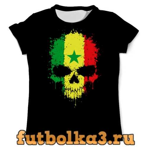 Футболка Сборная Сенегала мужская