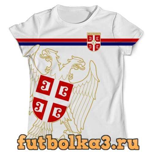 Футболка Сборная Сербии мужская